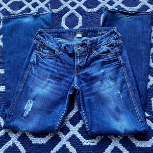 Silver Women's Eden jeans